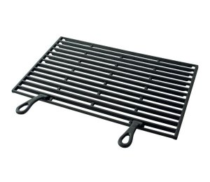with Cast-Iron Cooking Grid