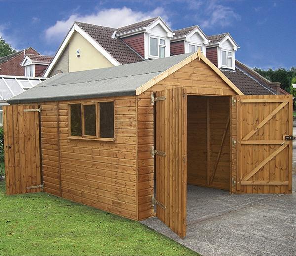 Wooden Garages
