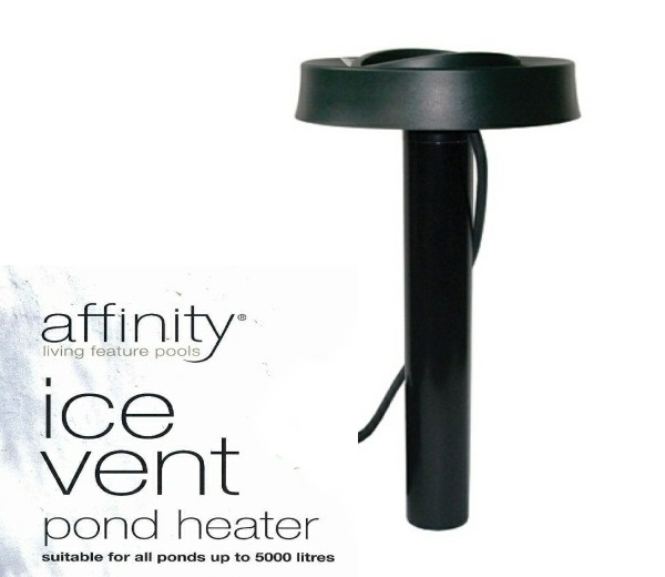with FREE Affinity Ice Vent Pond Heater