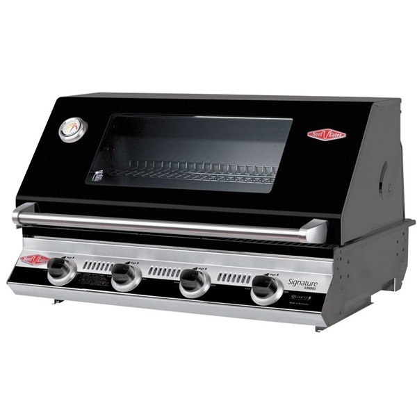 with Signature S3000E 4 Burner Built-In BBQ