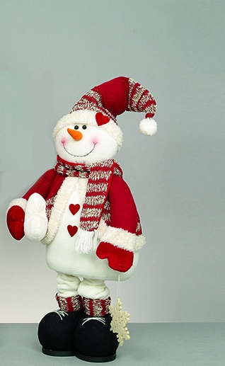 with Snowman Design
