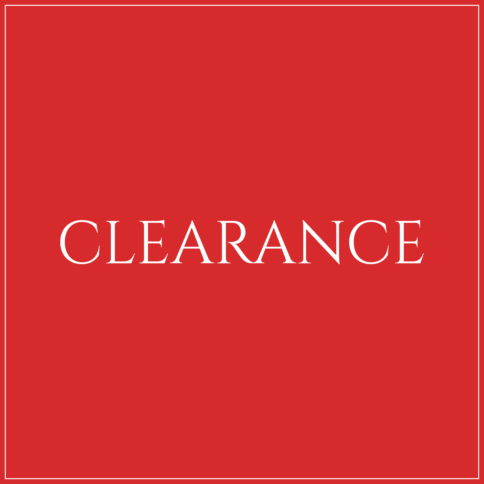 Christmas Clearance Lines