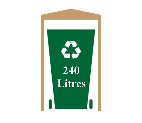in 240 Litre Size