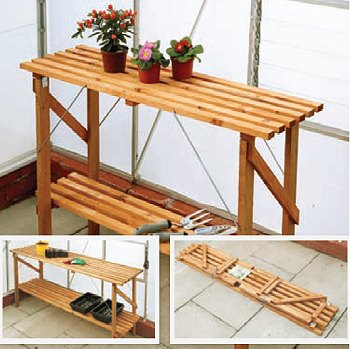 with 6ft (14inch Wide) Standard Wooden Staging
