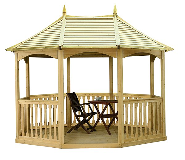 3.19m Pavilion Size with Timber Roof