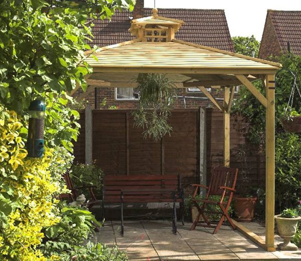as Canopy Only with Timber Roof