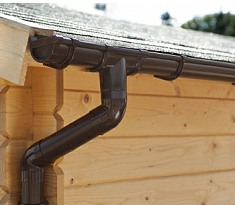 with Roof Guttering