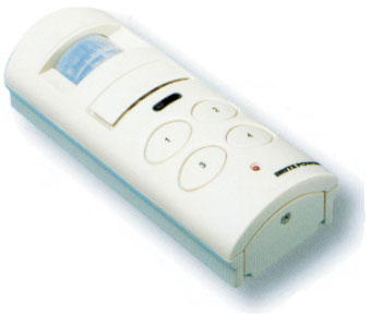 with Infra-Red Alarm Sensor