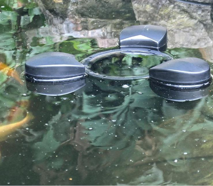Pond surface skimmer bermuda 3500 for Garden pond skimmer