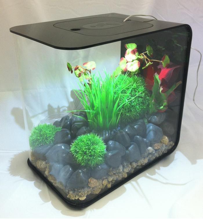 Buy biOrb Flow 15 Litre Black Aquarium fish tank for sale and home ...