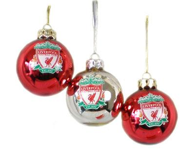Buy Online Liverpool FC Christmas xmas tree Baubles decorations for ...