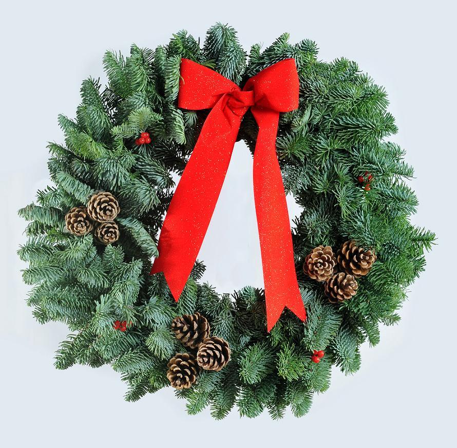 Fresh christmas wreaths centerpieces holiday wreath Designer christmas wreaths uk