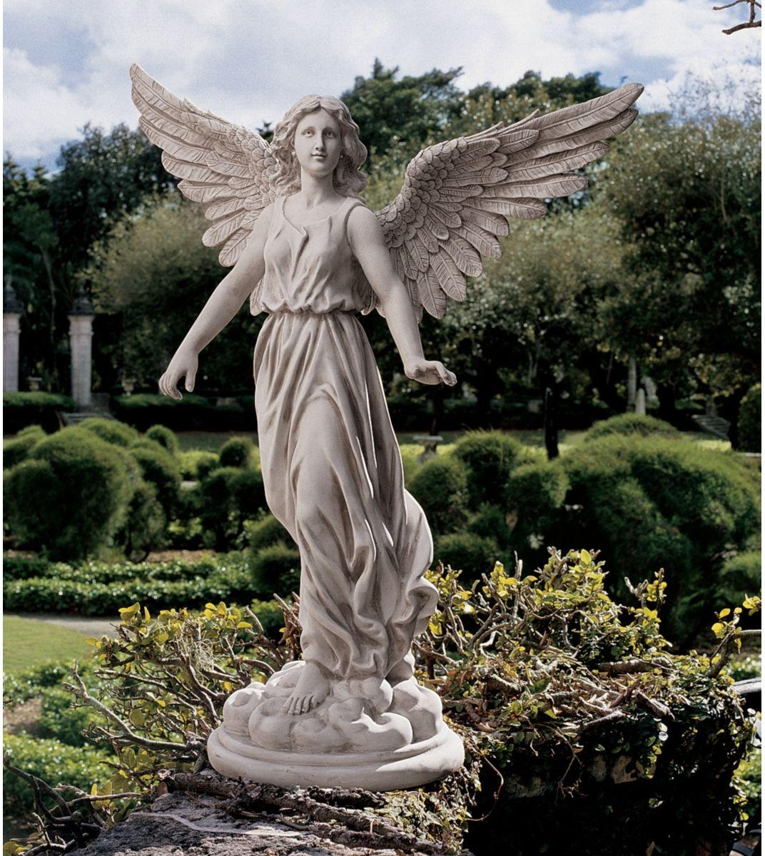 An Angel Was Here On Pinterest Angel Statues Angel