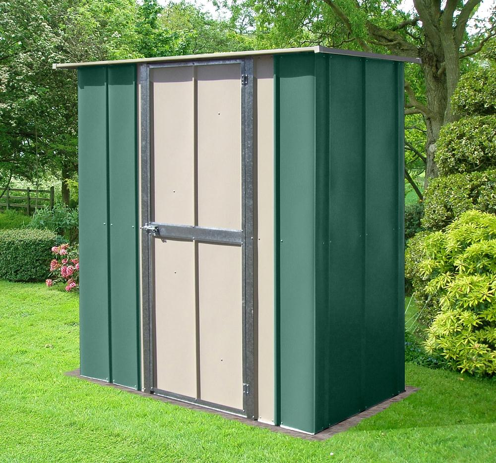 Flat roof shed for sale for Used metal garden sheds for sale