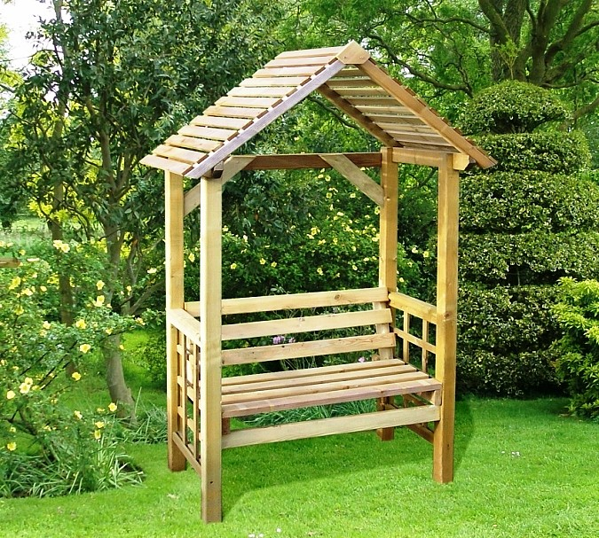 Garden arbour seat uk,how to build a wooden shed on concrete ...