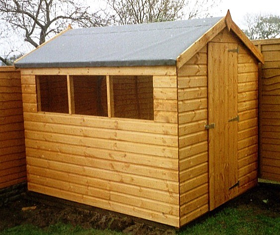 How to build a garden shed new zealand 8 x 6 timber shed for Garden shed 8x6