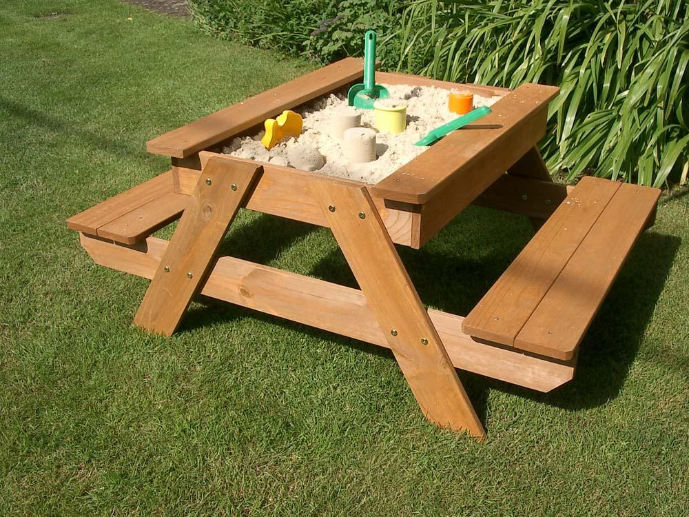Sand And Picnic Table By Plum Products Gardensite Co Uk