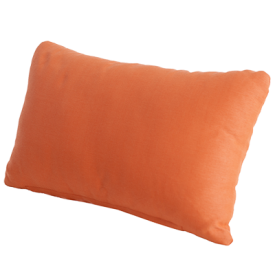 with Orange Scatter Cushion