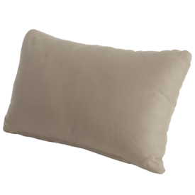 with Taupe Scatter Cushion