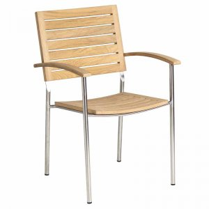 as Curved Arm Roble Armchair Design