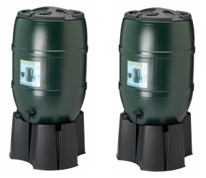2x 120L Water Butts with Multi-buy Saving