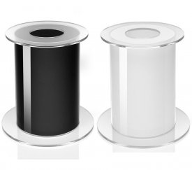 with Official BiOrb 105 Stand (Changeable Colour Black/White)