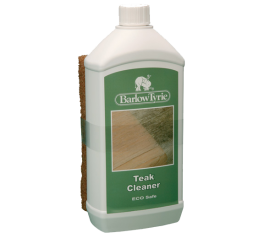 With Teak Cleaner 1litre