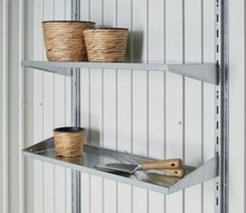 with 2 Piece Shelf Set