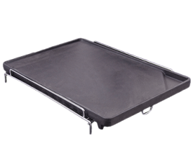 with Cast Iron Sideburner Griddle