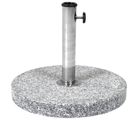 with 15kg Round Granite Parasol Base
