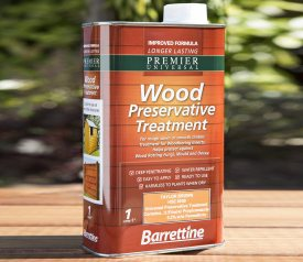 with 1L Wood Preservative Oil