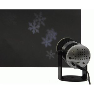 as INDOOR Snowflake Projector