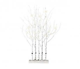 in White 90cm Tall with 48 LEDs