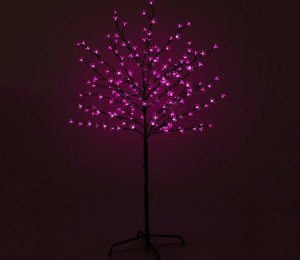 with PINK LEDs