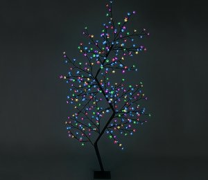 with MULTICOLOURED LEDs