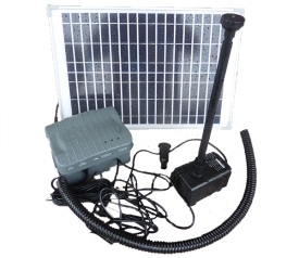 with Solar Pump & Nozzle Set