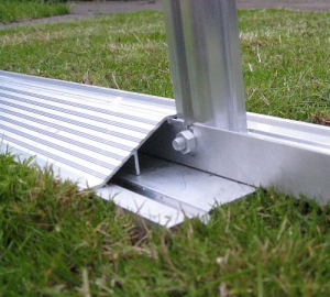 with Matching Cambered Door Cill and Support Plate