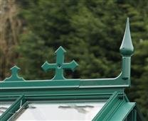 with MATCHING Powder Coated Cresting & Finials
