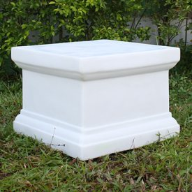 with Small White Victorian Plinth