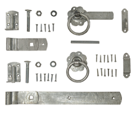 with Galvanised Europa Gate Fixings