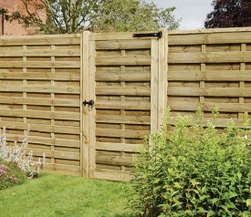with Europa Plain 3ft x 6ft Gate