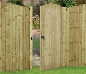 with Heavy Duty 3ft x 6ft Tongue and Groove Gate