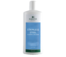 with Stainless Steel Cleaner