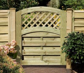 with Elite St Meloir 3ft x 3ft Gate