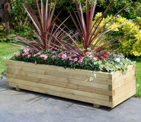 as Rectangular Planter