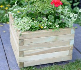 as Medium Square Planter