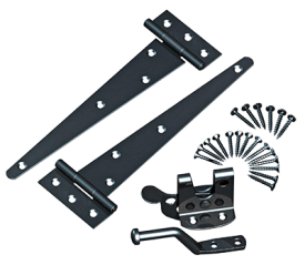 with Hinge & Auto Latch Fittings Kit