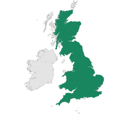 with Delivery to Mainland England, Wales & Scotland (excludes Islands)
