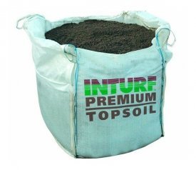 with Premium Top Soil (One Tonne Bulk Bag)
