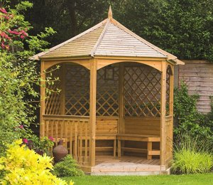 2.1m (Compact) Size with Timber Roof